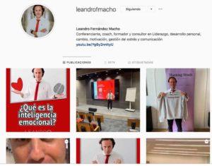 Instagram Leandro Fernandez Macho